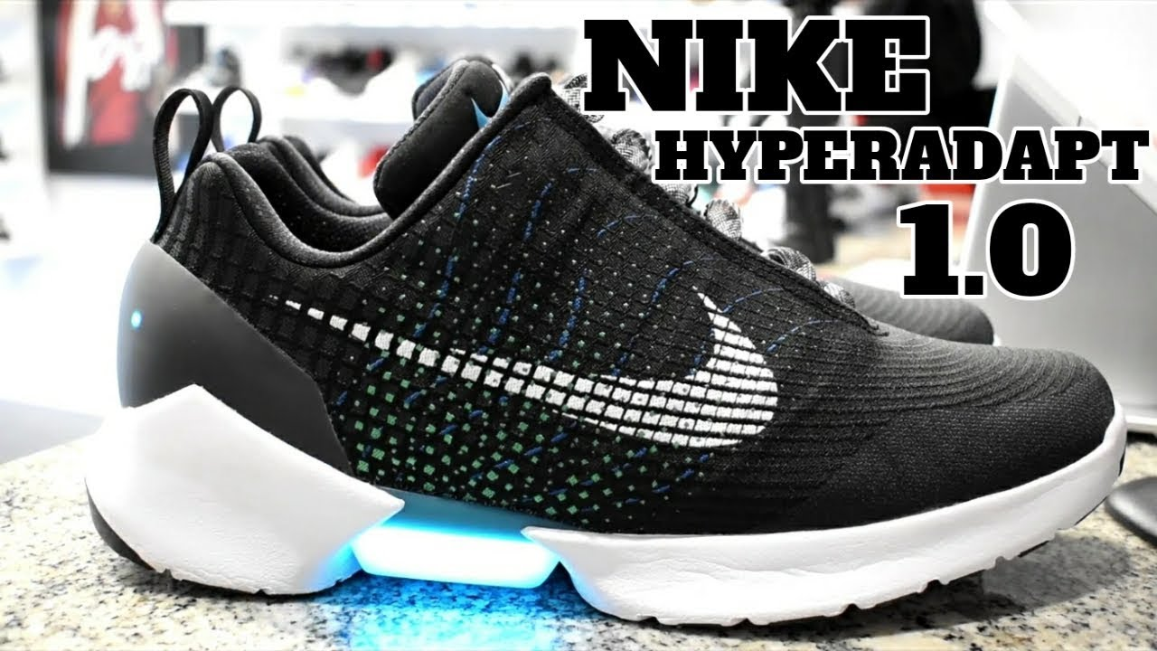 NIKE HYPERADAPT 1.0 UNBOXING AND DETAILED LOOK