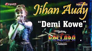 NEW PALLAPA - Demi Kowe. voc JIHAN AUDY ( Live kediaman H. Giatno )