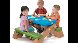 Review: Step2 Play Up Fun-fold Jr. Picnic Table Colors Vary