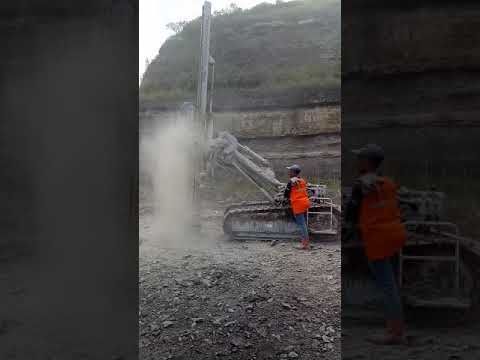 Coal minning open pit drilling by CRD furukawa