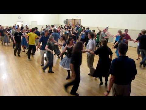 Contra Dance, Palo Alto, California, 2009, Friday Night Waltz