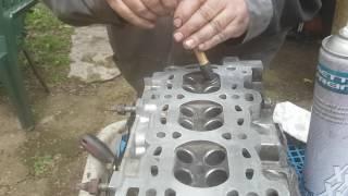 Rodage soupapes moteur Zetec Ford