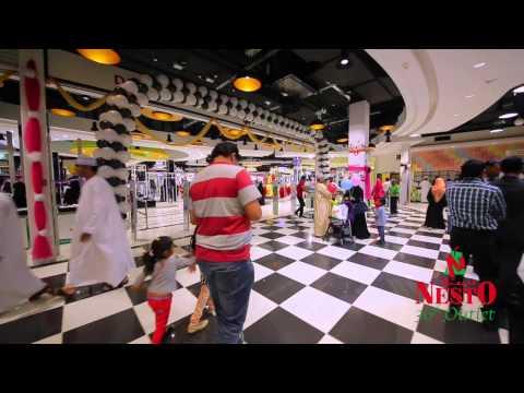 Inauguration of Nesto Hypermarket, Al Seeb, Oman.