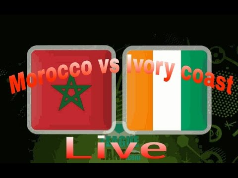 Morocco Vs Ivory Coast || Live Match. Africa cup nation