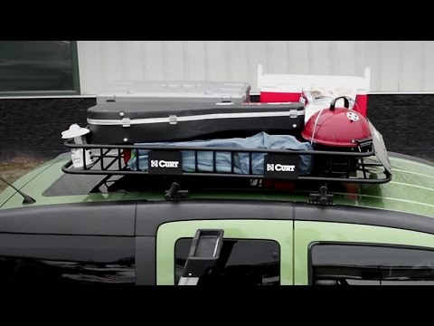 Curt Roof Mounted Cargo Carrier Installation