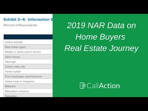 What Percentage of Home Buyers use the Internet?  📊 2019 NAR Home Buyer & Seller Survey Profile Data