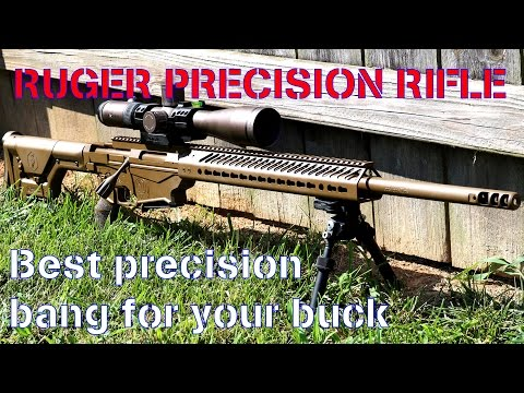 Ruger Precision Rifle - Best PRECISION bang for your buck - CUSTOM RPR