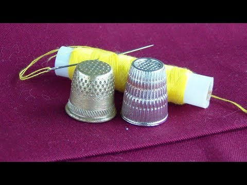How To Use A Thimble For Hand Sewing