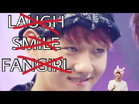 EXO TRY NOT TO LAUGH/SMILE/FANGIRL CHALLENGE