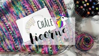 TRICOT • Châle Licorne • PART. 2