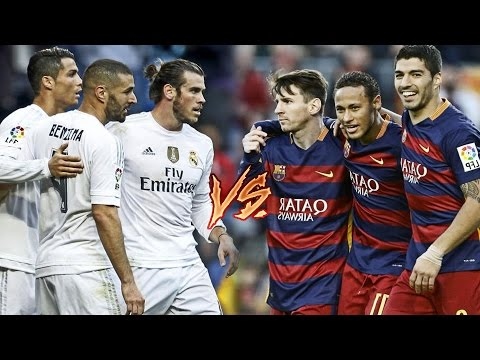 Bale, Benzema, C.Ronaldo vs Messi, Suarez, Neymar | BBC vs MSN | 2016 HD