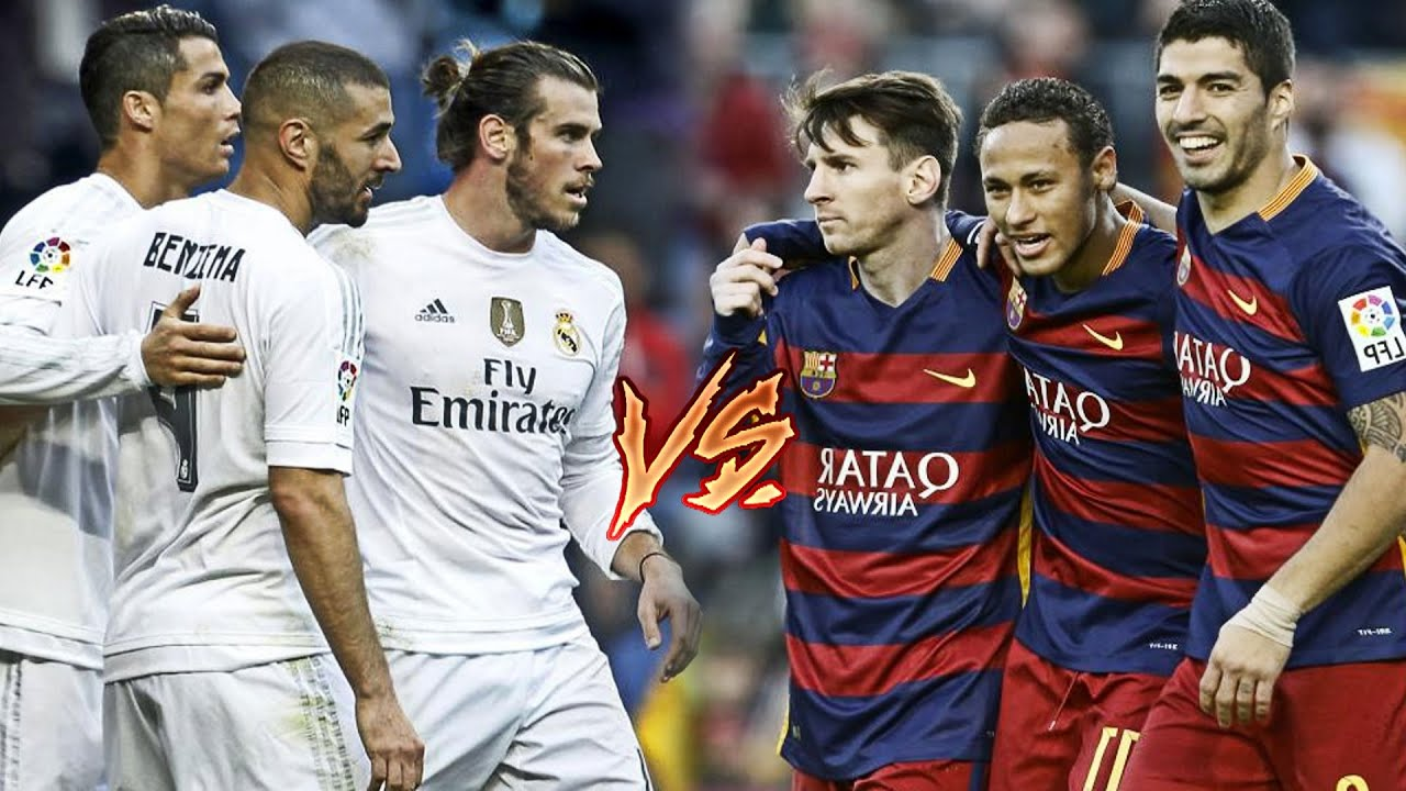 Bale, Benzema, C Ronaldo vs Messi, Suarez, Neymar | BBC vs MSN | 2016 HD