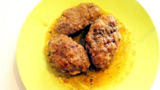 Котлеты из говядины на сковороде по-домашнему видео рецепт