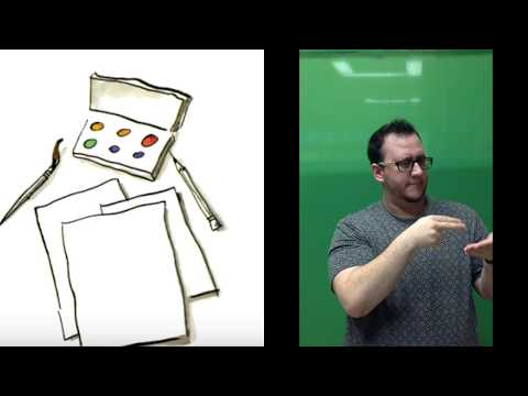 The Dot (in American Sign Language) By Peter H. Reynolds (CC) (No Audio)