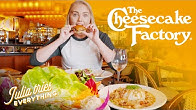 Trying 40 Of The Most Popular Dishes From The Cheesecake Factory Menu | Delish