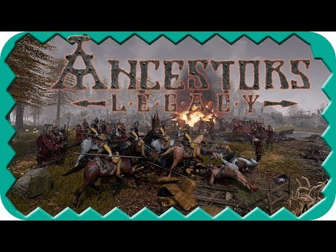 ANCESTORS LEGACY | City building and Multiplayer Skirmish | Ancestors Legacy Gameplay
