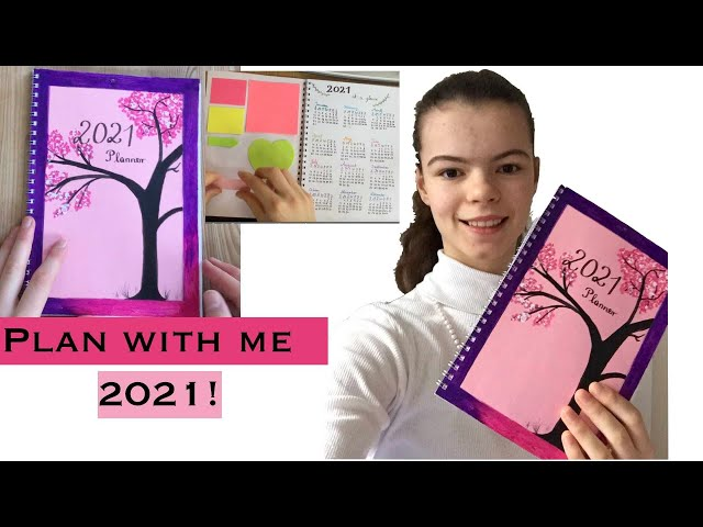 How to make a DIY Planner / Bullet Journal from Scratch | My 2021 Planner Setup