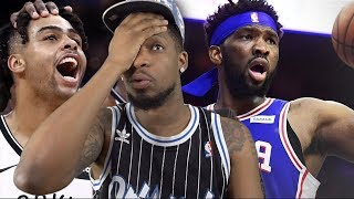 EMBIID KEEPS DROPPING 40! WHO DOES HE THINK HE IS!? NETS vs SIXERS HIGHLIGHTS
