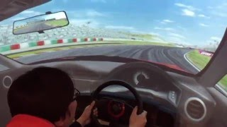 バンダイナムコエンターテイメントのスポーツ走行体感マシン「リアルドライブ」を体験してみた! thumbnail