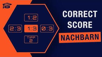 Sportwetten Strategien | Correct Score mit Nachbarn