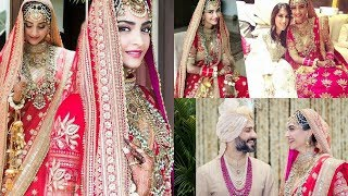 Sonam Kapoor And Anand Ahuja From Their Wedding Album Look Straight