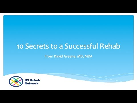 Ten Secrets to a Successful Drug Rehab Experience (888) 598-0909
