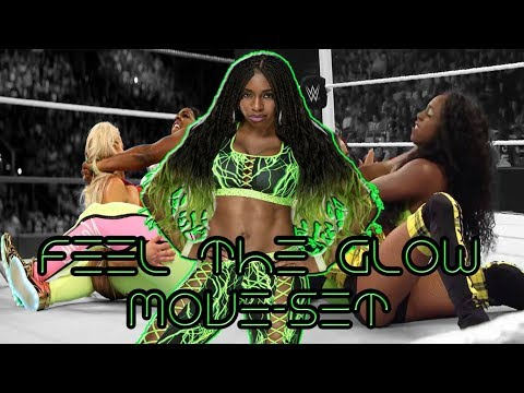 WWE - Naomi - Top 30 Moves | Feel The Glow Move-Set |