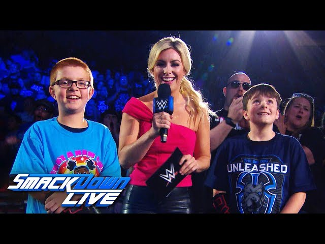 """Sarah Schreiber plays """"What's My Name?"""" with the WWE Universe: SmackDown Exclusive, June 25, 2019"""
