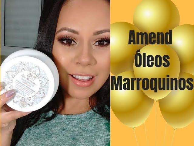 Amend Óleos Marroquinos- Nutrição Nacional Nota 10