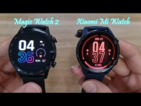 Honor Magic Watch 2 Huawei Watch Gt2 Vs Xiaomi Mi Watch How Similar Youtube