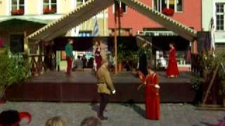 Renaissance Dancing in Tallin, Estonia