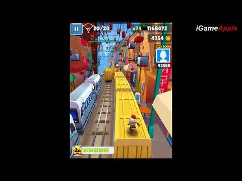 SUBWAY SURFERS GAMEPLAY HD - SHANGHAI FULL Gameplay for Children