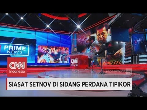 Psikolog Forensik: Setnov Kembali Pura-Pura Sakit, Setya Novanto di Persidangan