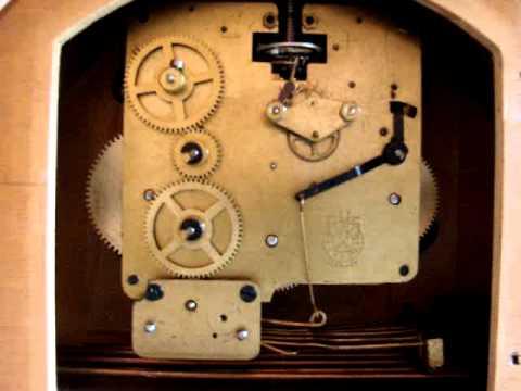 Mantel clock movements