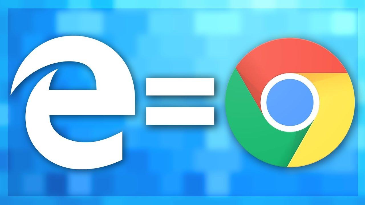 The New Microsoft Edge = Chrome! - YouTube
