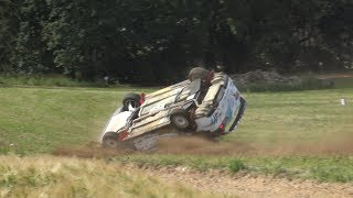 Shell Helix Rally Estonia 2019 Day 1 Action Mistakes Roll