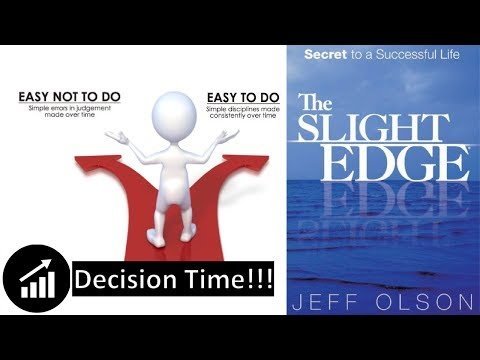 #37 - The Slight Edge: Turning Simple Disciplines Into Massive Success - Book Review