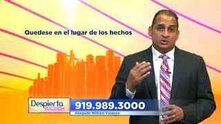 Vasquez Law Firm, PLLC Video - Despierta Raleigh Vasquez Law Firm Accidente Automovilistico