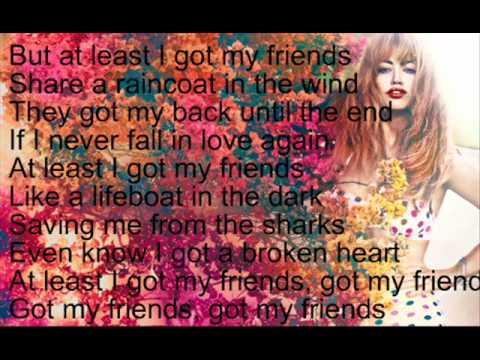 Aura Dione - Friends Lyrics | MetroLyrics