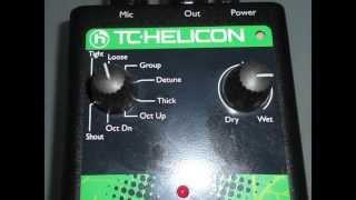 TC-Helicon Voicetone D1 Doubling & Detune
