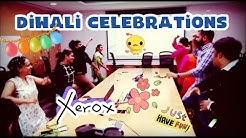 Flash mob Diwali celebrations at office | Xerox