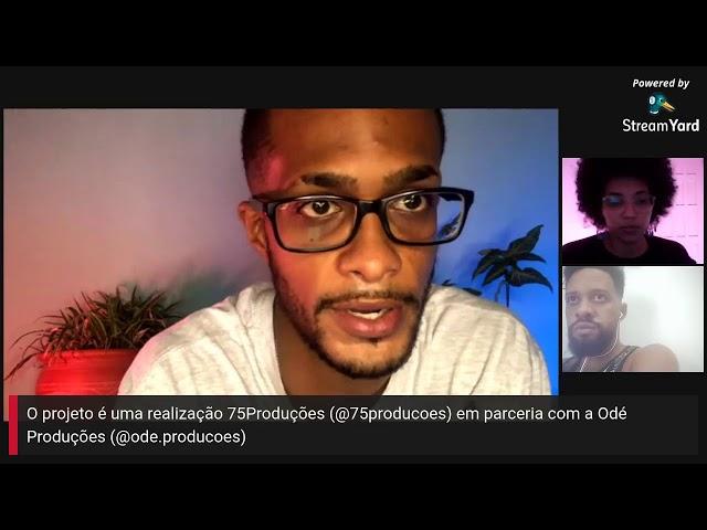 Programa Cena75 -  AO VIVO - EPISÓDIO 06