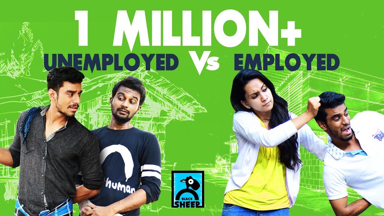 Employed Vs Unemployed   Adhu Idhu with Ayaz #7   Black Sheep