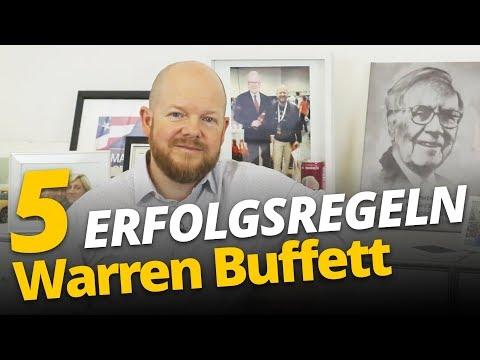 5 Erfolgsregeln von Warren Buffett | Jens Rabe