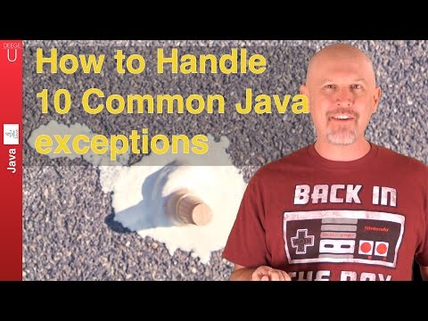 How to handle 10 common Java Exceptions - 042