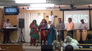Nin Sneham Paduvan Sister Nirmala Peter and Group at Zion Brandon Florida