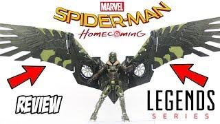 Review Abutre com BAF Marvel Legends filme Homem Aranha de Volta ao Lar - toy brinquedo em portugues
