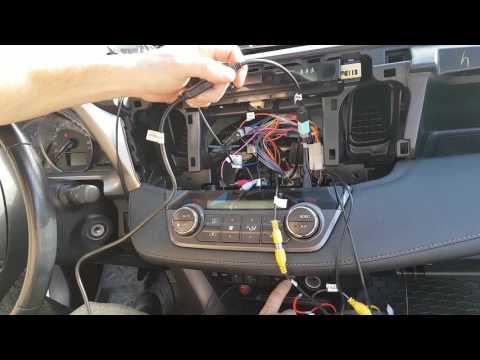 замена штатной магнитолы на rav4 на redpower 31017