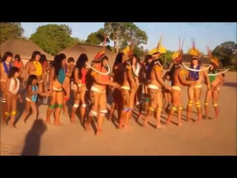 Primitive tribes in the heart of the Kalahari Desert Part 3 Girls with initiation ritual