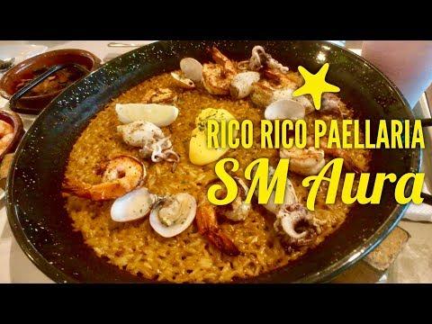 Rico Rico Paellaria SM Aura Food on Four Bonifacio Global City Manila